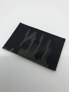 Laser Cut Reflective Homage Patch