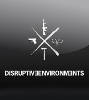 DISRUPTIVEENVIRONMENTS D3 VINYL STICKER
