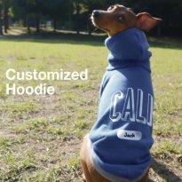 名前入り 犬服 パーカー