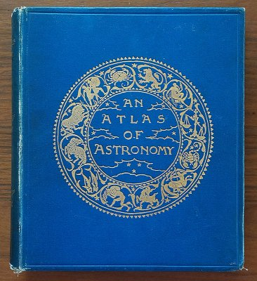 「AN ATLAS OF ASTRONOMY」/イギリス1892年