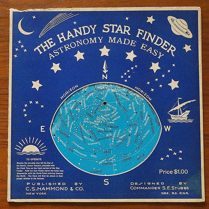 星座早見盤/THE HANDY STAR FINDER ASTRONOMY MADE EASY(アメリカ ...