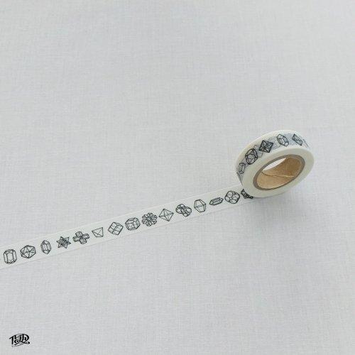 結晶図マスキングテープ