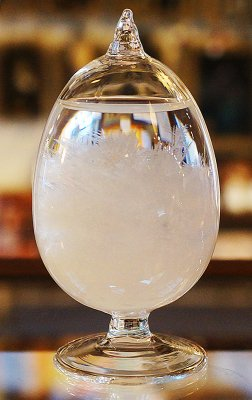 ストームグラス(オールグラス・卵)