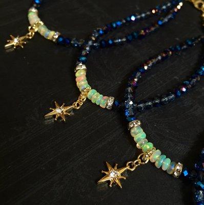 満天の星オパールブレスレット