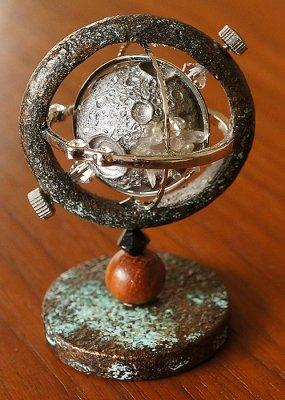 模造満月球儀