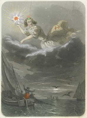 J・J・グランヴィル 「Les Étoiles(星々)」フランス/1849年