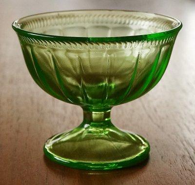 ウランガラス/デザートカップ