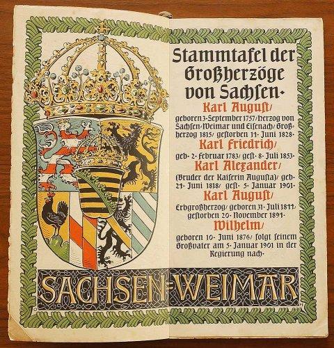 ミュンヘンカレンダー/ドイツ1904年