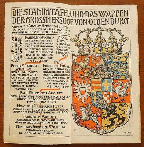 ミュンヘンカレンダー/ドイツ1905年