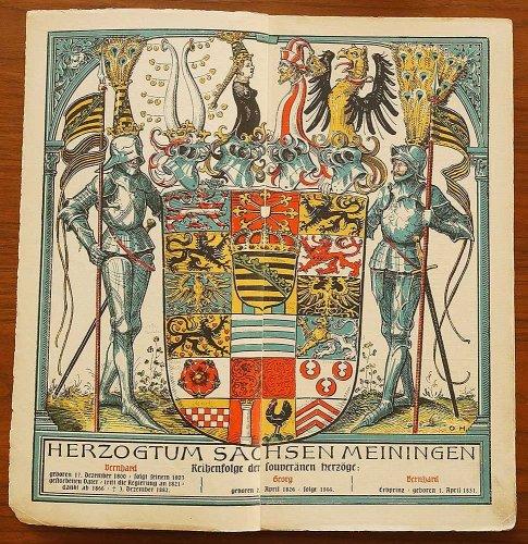 ミュンヘンカレンダー/ドイツ1909年