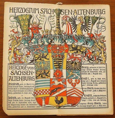 ミュンヘンカレンダー/ドイツ1910年