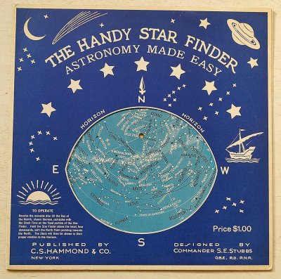星座早見盤/THE HANDY STAR FINDER ASTRONOMY MADE EASY(アメリカ1941年)