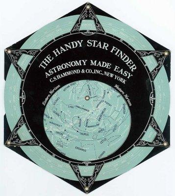 星座早見盤/HAMMOND'S HANDY STAR FINDER(アメリカ1941年)