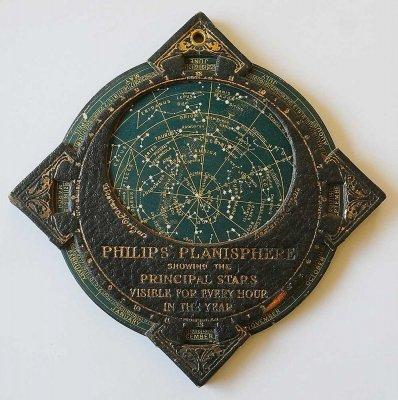 携帯版フィリップス星座早見盤(イギリス製)