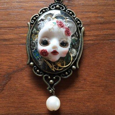 薔薇姫幼児ネックレス