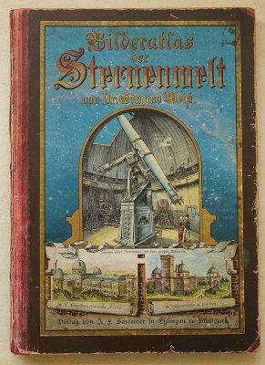 「Bilder-atlas der Sternenwelt」/ドイツ1892年