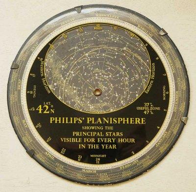 星座早見盤/PHILIPS'PLANISPHERE(イギリス1959年)