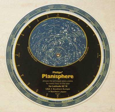 星座早見盤/PHILIPS'PLANISPHERE(イギリス1982年)