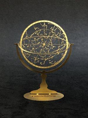 Constellation-コンステレイション-夏の星座の天球儀 真鍮製/プチ ラボラトワール -手のひらの研究所-