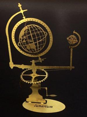 ルナリウム 二球儀 真鍮製/プチ ミュゼ -手のひらの博物館-