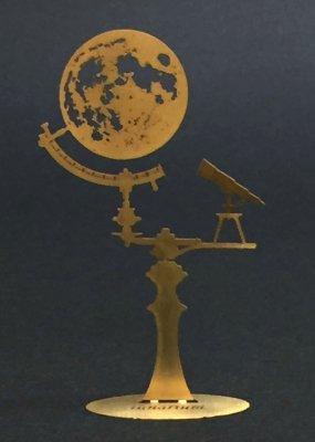 ルナリウム(天体観測)真鍮製/プチ ミュゼ -手のひらの博物館-