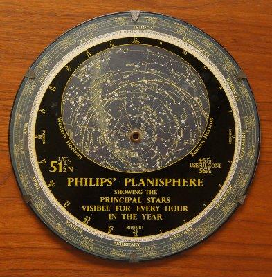 フィリップス星座早見盤(1959年イギリス製)