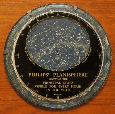 フィリップス星座早見盤(1960年頃イギリス製)
