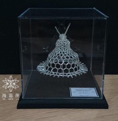 「放散虫 Cycladophora pliocenica ビーズ模型」海宙屋-misoraya-