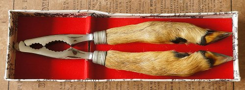 鹿の脚のナッツクラッカー/フランス1950年代