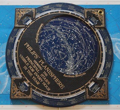 フィリップス星座早見盤(イギリス製)