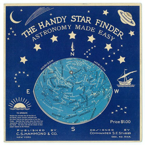 THE HANDY STAR FINDER ASTRONOMY MADE EASY(アメリカ1941年)
