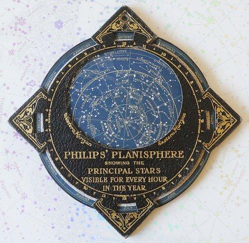 携帯用フィリップス星座早見盤(イギリス製)