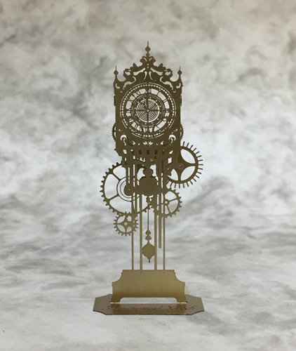 「Mechanical Clock/メカニカルクロック/機械時計のオブジェ」ものづくりの部屋