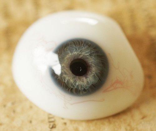 アンティーク・義眼(ドイツ・ラウシャ製/1890年頃)傷あり