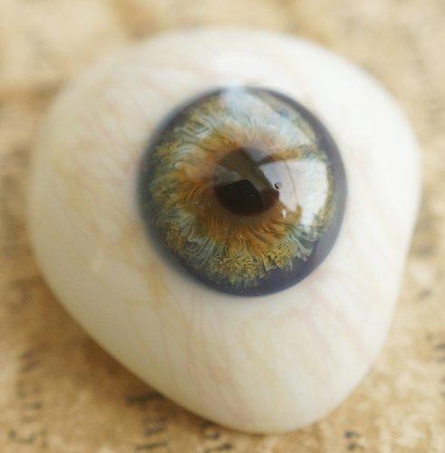 アンティーク・義眼(ドイツ・ラウシャ製/1890年頃)