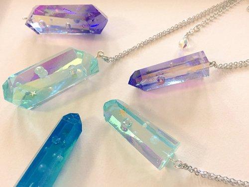夢見る鉱物ネックレス(小・水晶)
