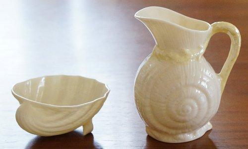ベリーク・ネプチューン/ミルクピッチャー&小皿