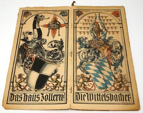ミュンヘンカレンダー/ドイツ1895年