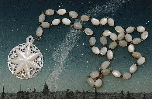ベツレヘムの星/マザーオブパールのペンダント