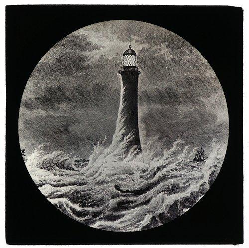 灯台のガラススライド