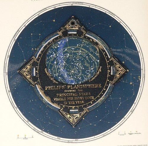 フィリップス星座早見盤・ポケットサイズ(イギリス製)