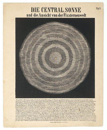 透過光式天体図版(1855年頃 ドイツ)