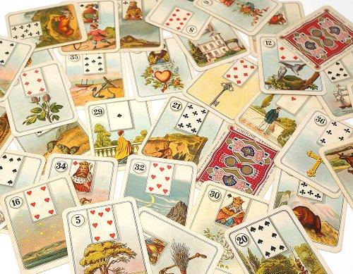 占いシガレット・カード36枚フルセット/イギリス1926年