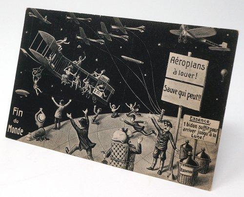 ハレー彗星 「世界の終わり」ポストカード
