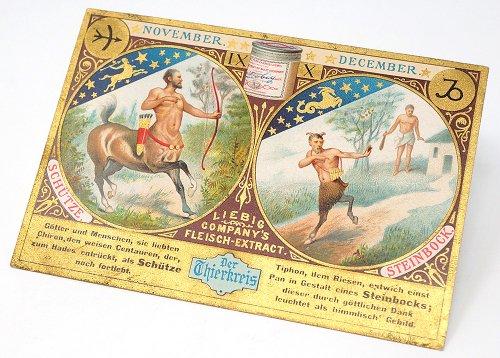 12星座のクロモカード