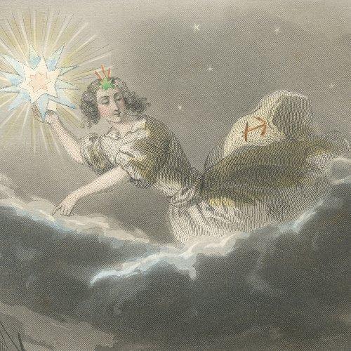 J・J・グランヴィル 「Les Étoiles(星々)」』フランス/1849年