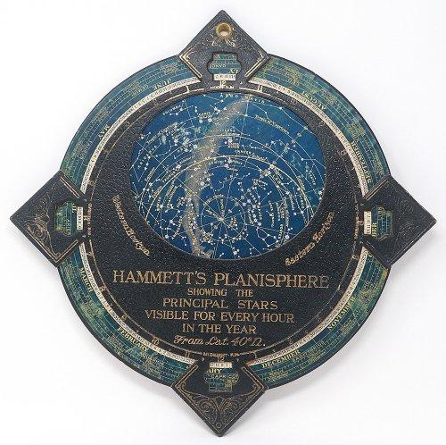 ハメット星座早見盤(イギリス製)