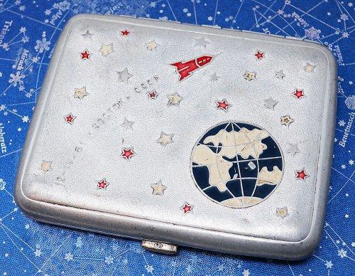 ソビエト宇宙開発シガレット・ケース