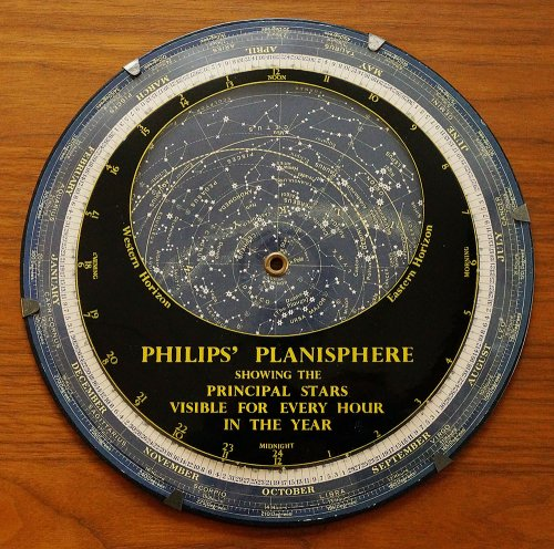 星座早見盤/PHILIPS'PLANISPHERE