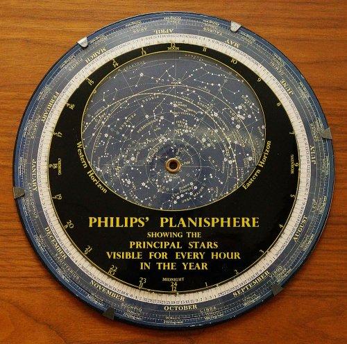 星座早見盤/PHILIPS'PLANISPHERE